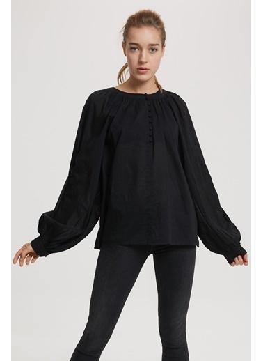 Lee Cooper Uzun Kollu Gömlek Siyah